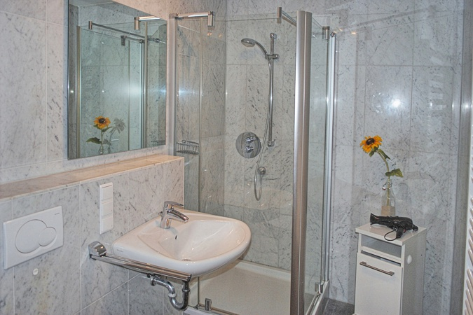 Appartement Sommerwind - Bad mit Dusche