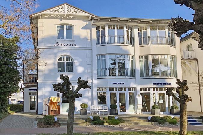 Haus Saxonia Appartements in Binz Haus SAXONIA in