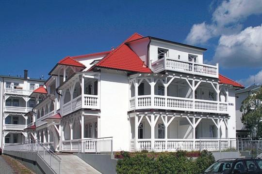 Haus Strandburg im Ostseebad Binz auf Rügen